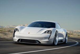 Porsche Mission E ще получи двойно предаване
