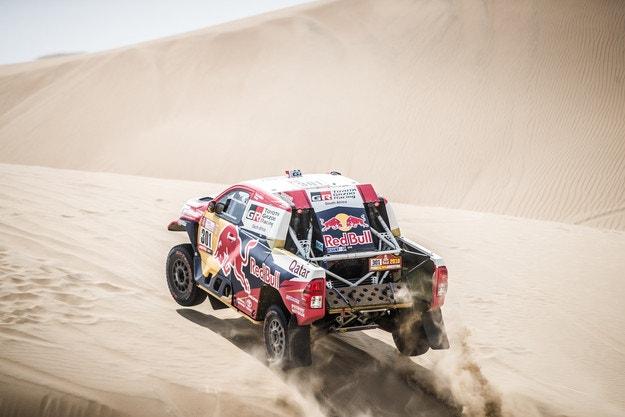 Ал-Атия спечели третия етап на Дакар