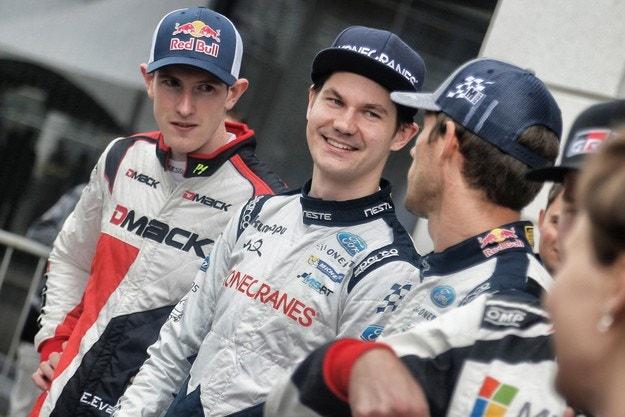 Сунинен ще е съотборник на Ожие и Еванс в M-Sport Ford