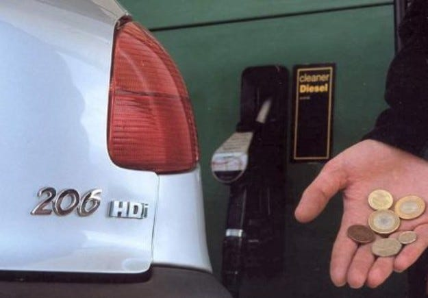 Дизелът изпревари бензина във Великобритания