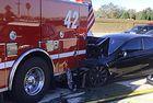 Tesla с автопилот се разби в пожарeн автомобил