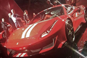 Появи се снимка на най-мощния Ferrari с мотор V8