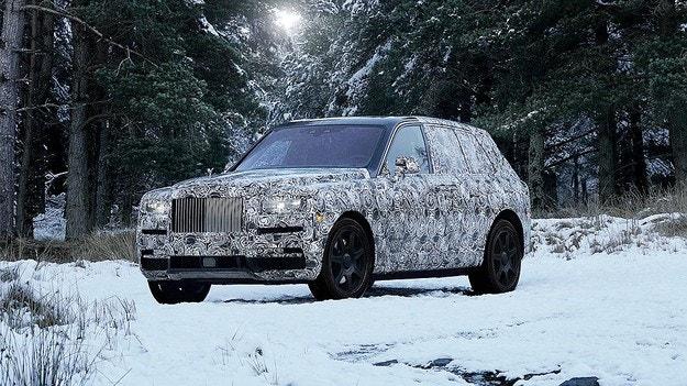 Кросоувърът на Rolls-Royce ще носи името Cullinan