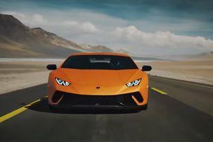 Lamborghini представя най-бързия открит Huracan
