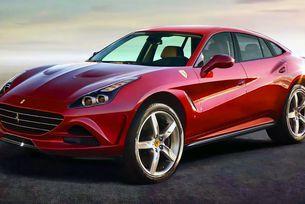 Кросоувърът Ferrari ще бъде хибрид с V8 двигател