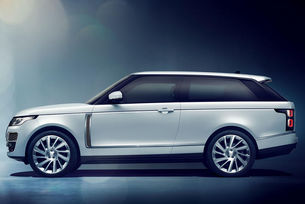 Range Rover пуска SV Coupe в битка с Bentley Bentayga