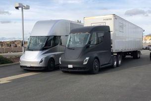 Камиони Tesla вече превозват товари