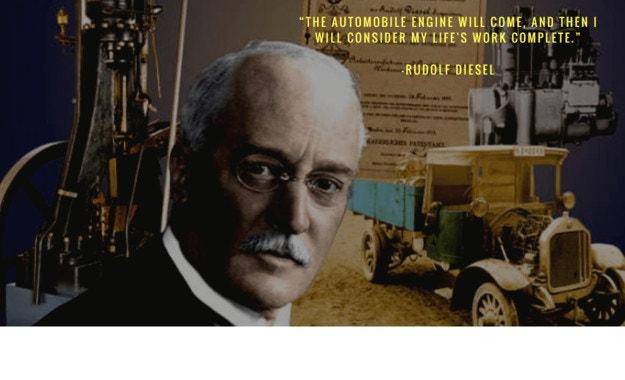 В памет на Рудолф Дизел: 160 години от рождението на гения
