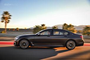 BMW спира Серия 7 с бензинови двигатели