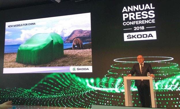 Skoda представя 19 нови модела до 2020 г.
