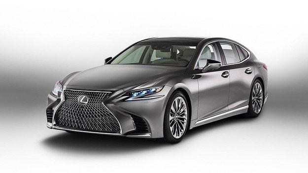 Lexus ще оборудва LS с водороден и eлектрически мотор