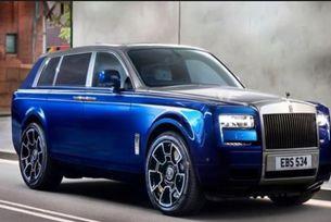 Кросоувърът Rolls-Royce Cullinan дебютира на 10 май
