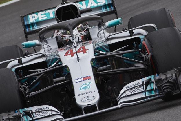 Mercedes превзе Испания