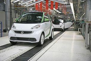 Във Франция ще правят електромобили Mercedes-Benz