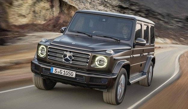 Mercedes G-класа ще получи дизел след шест месеца