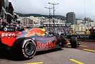 Red Bull доминира в първата тренировка в Монако