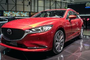 Обновената Mazda6 с дизелов двигател със 190 к.с.
