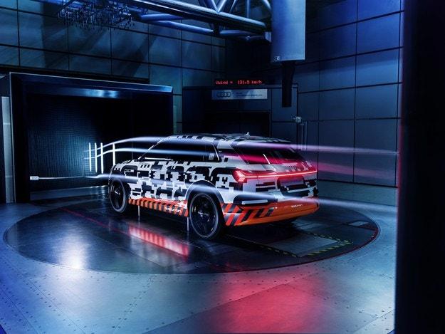 Уникален Cw от само 0,28 за Audi e-tron