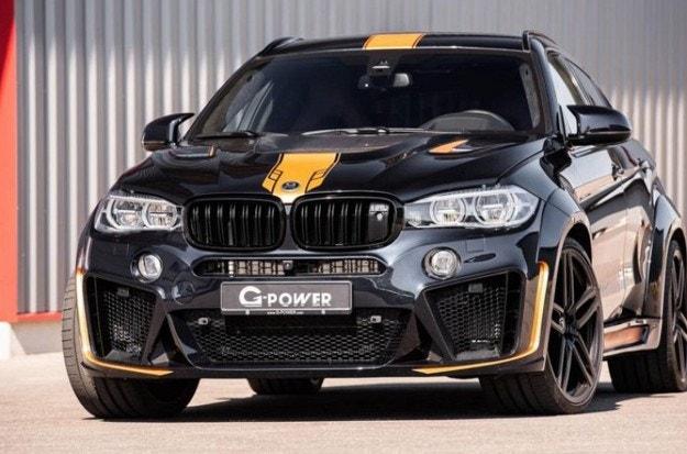 BMW X6 M със 750 к.с. от студиото G-Power