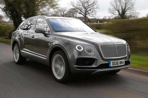 Bentley готви спортна версия на кросоувъра Bentayga
