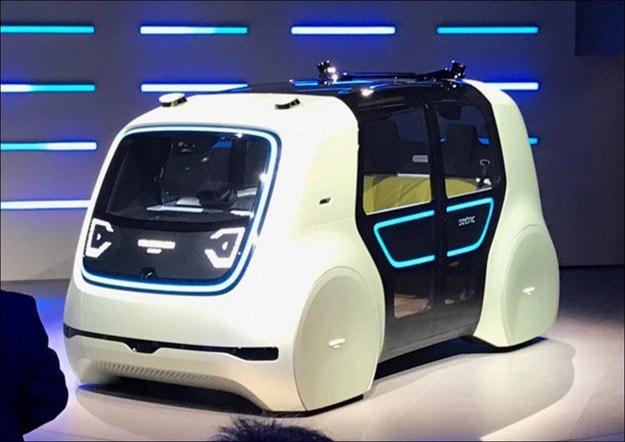 Volkswagen показа автономен автомобил за туризъм