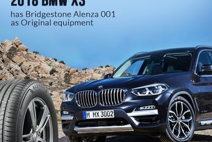 Bridgestone е избран за доставчик на BMW X3