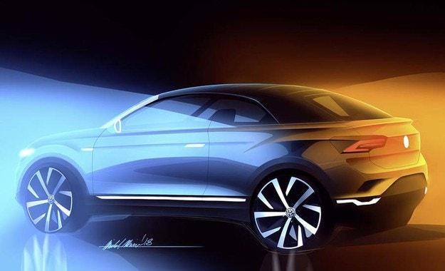 Volkswagen подготвя кросоувър-кабриолет T-Roc