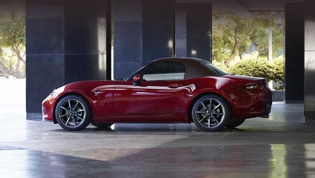 Европейският роудстър Mazda MX-5 стана по-мощен