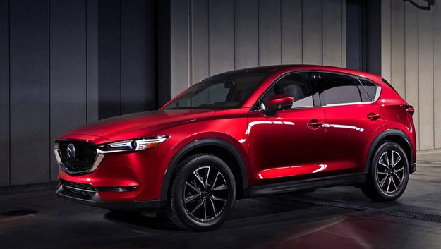 Кросоувърът Mazda CX-5 ще получи турбодвигател
