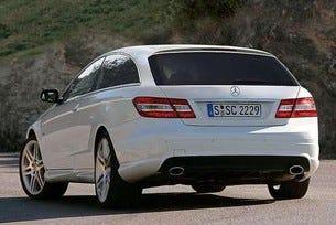 Mercedes CLK: Shooting Brake Concept