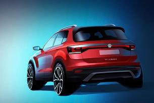 VW показа тийзър на новия кросоувър T-Cross
