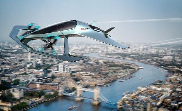 Aston Martin разработи летящ автомобил Volante Vision