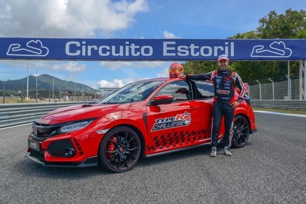 Honda Civic Type R с нов рекорд на Ещорил