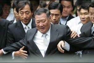 Шефът на Hyundai повторно на съд