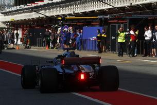 Нови задни светлини във Формула 1