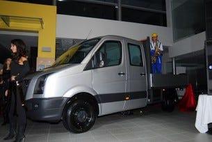 Премиера на новия лекотоварен автомобил на Volkswagen - Crafter
