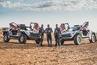 X-raid обяви официално звездното трио на Peugeot