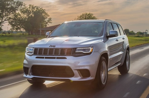 Jeep Grand Cherokee Trackhawk с 1200 конски сили