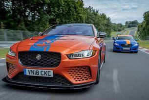 Най-бързият Jaguar стана такси на Нюрбургринг
