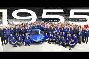 Край на производството за Alpine A110 First Edition