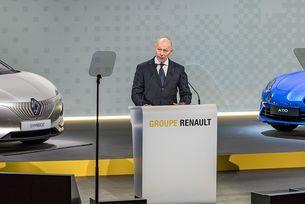 В Renault назначиха временно президент