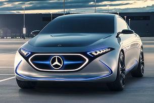 """Автономният Mercedes-Benz """"общува"""" с пешеходците"""