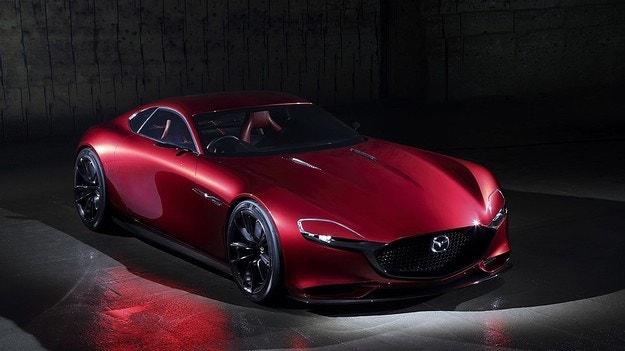 Mazda готви спортен модел на базата на RX-Vision