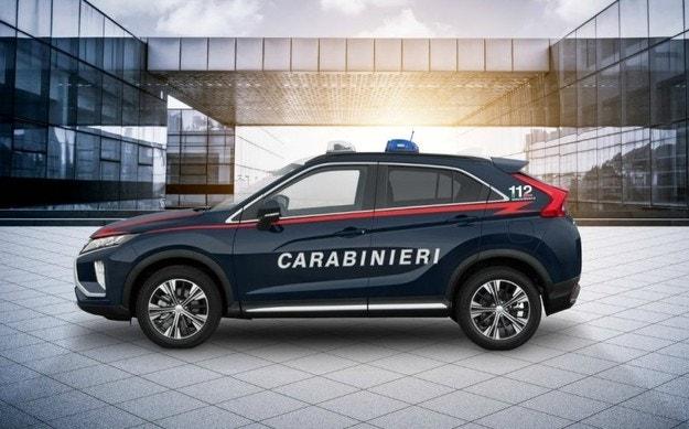 Италианската полиция получи Mitsubishi Eclipse Cross