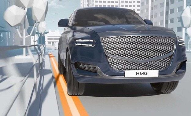 Hyundai намеква за кросоувър Genesis