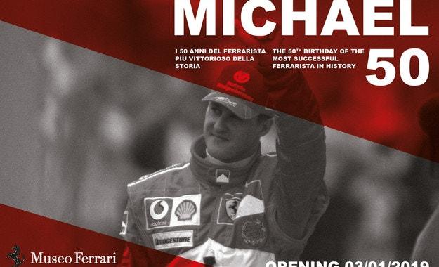 """Откриват изложба """"Michael 50""""  в Маранело"""