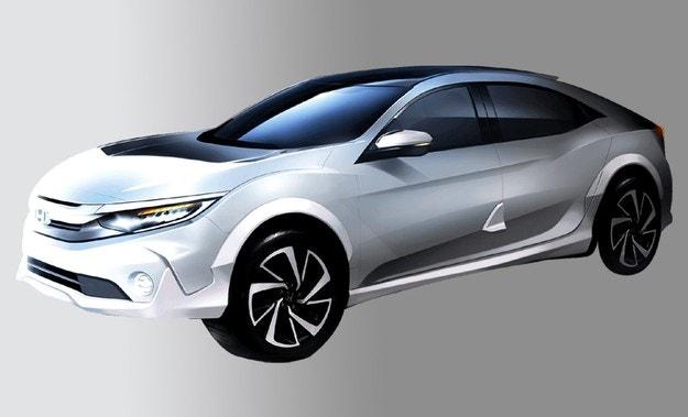 Honda обяви дебют на високопрохидим Civic