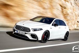Известна е мощността на най-бързия Mercedes A-класа
