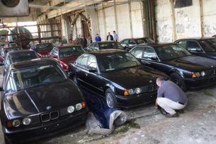 В България откриха 11 нови автомобила BMW от 1994