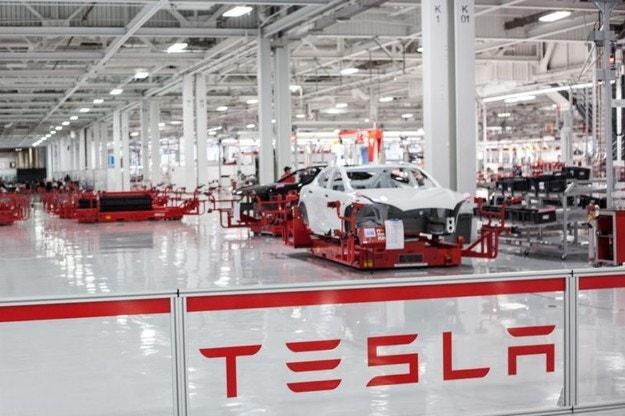 Tesla започна строителството на завод в Шанхай